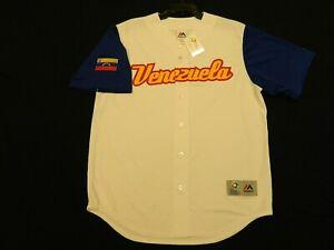 Official Team Venezuela WBC World Baseball Classic Jersey Large Irregular