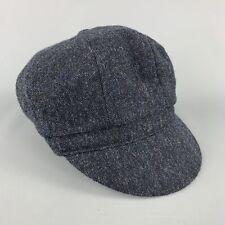 YOHJI YAMAMOTO Navy Wool Hat