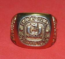 University of Miami Hurricanes Canes UM Baseball Vintage Ring Miami Fl Toyota