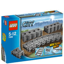 LEGO 7499 City Series Flexible & Straight Train Tracks Expansion Pack NEW SEALED