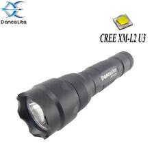 DanceLite WF-502B CREE XML2 U3 10w 6500K 5-MODE OP LED Flashlight Lamp (18650)