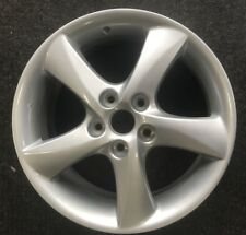 "OEM Mazda 6 17"" Wheel Rim 03 04 05 06 07 08 Genuine Silver 5 Spoke #64587 #1 #BP"