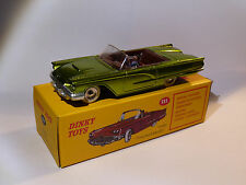 2nd Choice: Ford Thunderbird Green - Ref 555 to the / Of 1/43 DINKY Toys Atlas