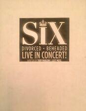 SIX - Playscript for Eninborough Fringe/West End Musical - Unbound Copy