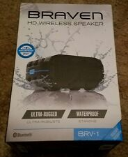 Braven BRV-1 Portable Bluetooth HD Wireless Waterproof Rugged Speaker