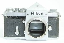 NIKON F 64 HOLLOW LEVER NIPPON KOGAKU PLAIN EYE LEVEL PRISM 35mm CAMERA BODY