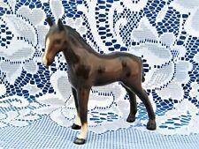 "Vintage Royal Doulton Colt Horse 3.5"" Figurine Dark Brown Made in England - Mint"