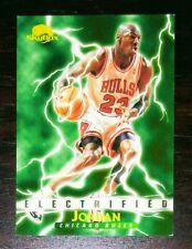 Michael Jordan 1995-96 Skybox Premium Electrified Insert Ex-Nr - FREE S&H
