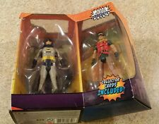 DC Comics 1966 Batman Classic TV Series 3 pack Batman Robin figures Adam West