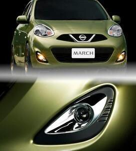 Fog Spot Lights Lamps Fit For Nissan Micra March K13 2013 2014 2015 2016 2017
