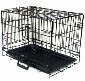 """Dog Puppy Cat Rabbit Collapsible Crate Pet Cage Small - Medium 24"""""""