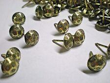 1000 Pcs Bulk Pack Antique Brass Hammered Head Nail/Upholstery Tack Pkg 1000
