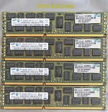 SAMSUNG/HP 32GB (4x 8GB) DDR3 SDRAM 1333Mhz CL9 DualRank ECC Registered Memory
