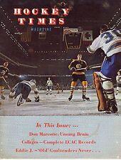 1971 (March) Hockey Times magazine, Phil Esposito, Boston Bruins ~ Good