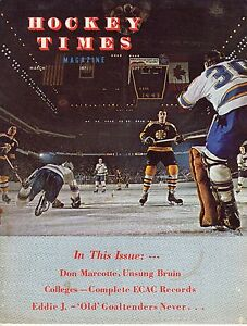 1971 (March) Hockey Times magazine, Phil Esposito, Boston Bruins ~ Good