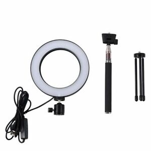 LED Studio Camera Ring Light Photo Phone light Lamp With Tripods Selfie Stick