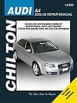 SHOP MANUAL A4 SERVICE REPAIR AUDI BOOK CHILTON 15300 QUATTRO 2002-2008