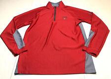 Under Armour Loose Men's 1/4 Zip Pullover Shirt O'Bannon Creek Golf Sz M - Euc