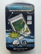 "Water Proof Pouch Comparable With 7-8"" Tablets & IPADS MINI  Brand New Seal"