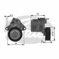 Aux Belt Tensioner fits MERCEDES ML270 W163 2.7D 99 to 05 OM612.963 Drive Gates
