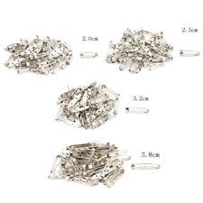 New 50pcs/Bag Safe Brooch Catch Bar Locking Pin Clasp Fastener Craft 20-38mm PT