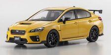 Subaru Impreza S207 NBR (2016) yellow 1:18 Kyosho KSR18021Y