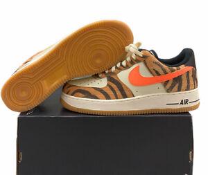 Nike Air Force 1 Low Premium Daktari Stripes DJ6192-100 Size 8 No Lid