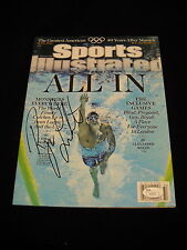 Ryan Lochte Autographed Sports Illustrated Magazine Olympics/ JSA