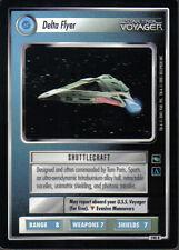 STAR TREK CCG VOYAGER RARE CARD DELTA FLYER