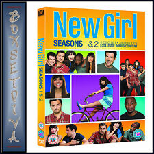NEW GIRL - COMPLETE SERIES SEASONS 1 & 2  **BRAND NEW DVD **