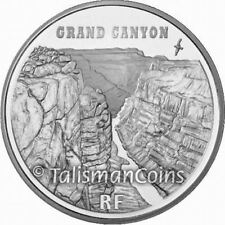 France 2008 UNESCO World Heritage Sites Grand Canyon 1.5 Euro Silver Proof
