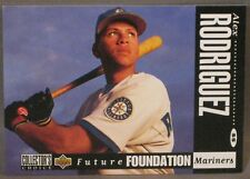 1994 COLLECTORS CHOICE ALEX RODRIGUEZ ROOKIE CARD #647