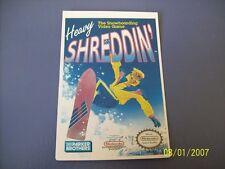 HEAVY SHREDDIN NES 8 Bit Nintendo Vidpro Card