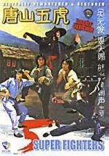 5 Super Fighters -Hong Kong Rare Kung Fu Martial Arts Action movie - New