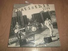 """WHAT IS THIS """" 3 OUT OF 5 LIVE """" 12"""" VINYL 1985 U.S. RELEASE NEW & SEALED"""