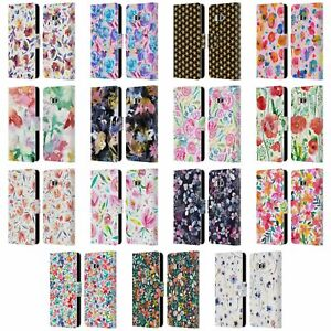 OFFICIAL NINOLA FLORAL LEATHER BOOK WALLET CASE COVER FOR HTC PHONES 1