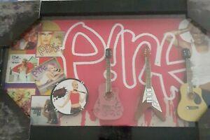Pink Framed Memorabilia