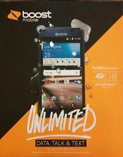 Boost Mobile Kyocera Hydro REACH Waterproof 8GB 4G LTE  New