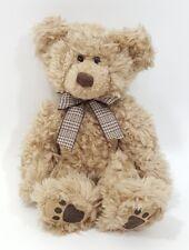 """Russ Thornbury Teddy Bear Plush Stuffed Animal 9"""" Curly Soft Cuddle Lovie!"""