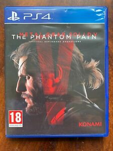 PS4 Metal Gear Solid V Phantom Pain 5 Game for Sony Playstation 4