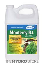 Monterey B.T. 1 Gallon - Bacillus Thuringiensis Organic Insect Pest Control Bt