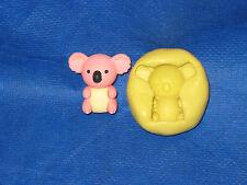 Koala Silicone  Push Mold Fondant Sugarcraft Resin Clay Candy #2 chocolate