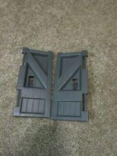JURASSIC PARK COMMAND COMPOUND CENTER MAIN ENTRY GATE DOORS REPLACEMENT PIECES