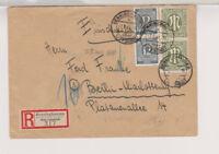 Bizone/AM-Post, Mi. 29(2) MiF 920 (2), R-Benninghausen über Lippstadt, 7.6.46