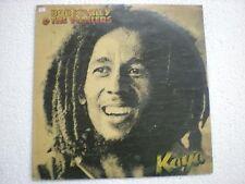 BOB MARLEY & THE WAILERS KAYA orig INDIA INDIAN LP vinyl pressing *mega rare*EX