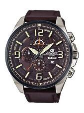 Casio Edifice reloj efr-555bl -5 avuef analógico marrón oscuro