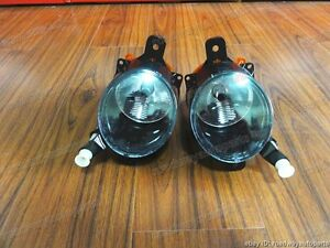 Clear Front Bumper Fog Lights Lamps Pair for Chevrolet Malibu 2013-2015