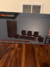 Home Theater System Bluetooth Speakers RCA Dolby Digital 5.1 1000W AM FM Remote