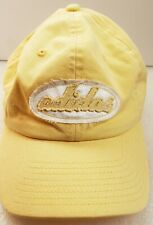 ADIDAS  yellow hat STRAP adjustable strapback  Cap
