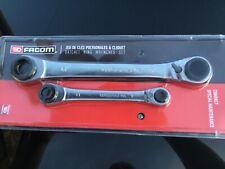 FACOM 64C.J2 CUATRO 8 Size RATCHET SPANNER SET 8, 10, 12, 13, 16, 17, 18 & 19mm